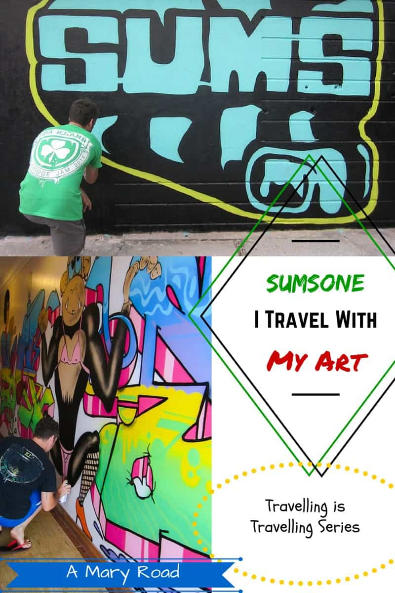 Travelling artist sums