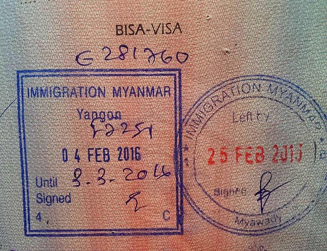 Myanmar Visa guide