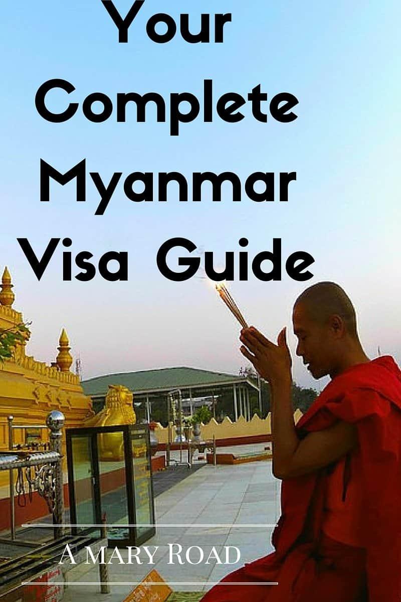 a visa guide to Myanmar, free visa to Myanmar, Myanmar visa, how to get a visa to Myanmar, evisa to Myanmar, and cost of visa to Myanmar