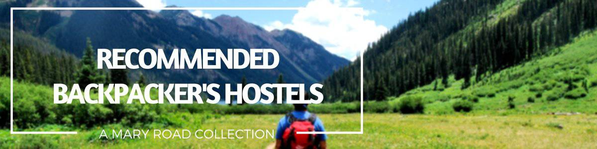 Recommended Backpackers hostels