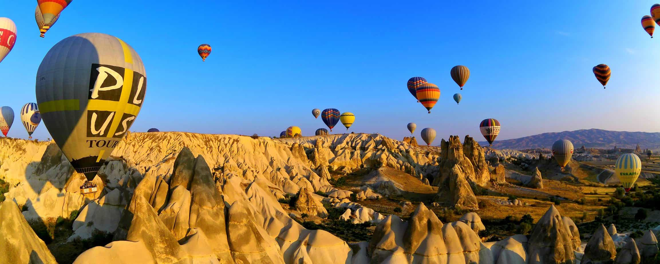 A Magical Experience in Cappadocia – Hot Air Balloon With Butterfly Balloons