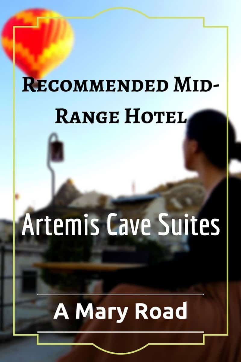 Recommended Hotel - Artemis Cave Suites in Goreme, Turkey