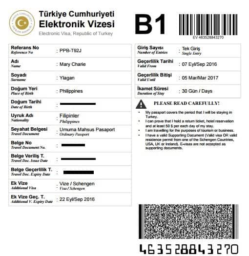 Turkey Tourist Visa Guide - Your Visa Guide | A Mary Road