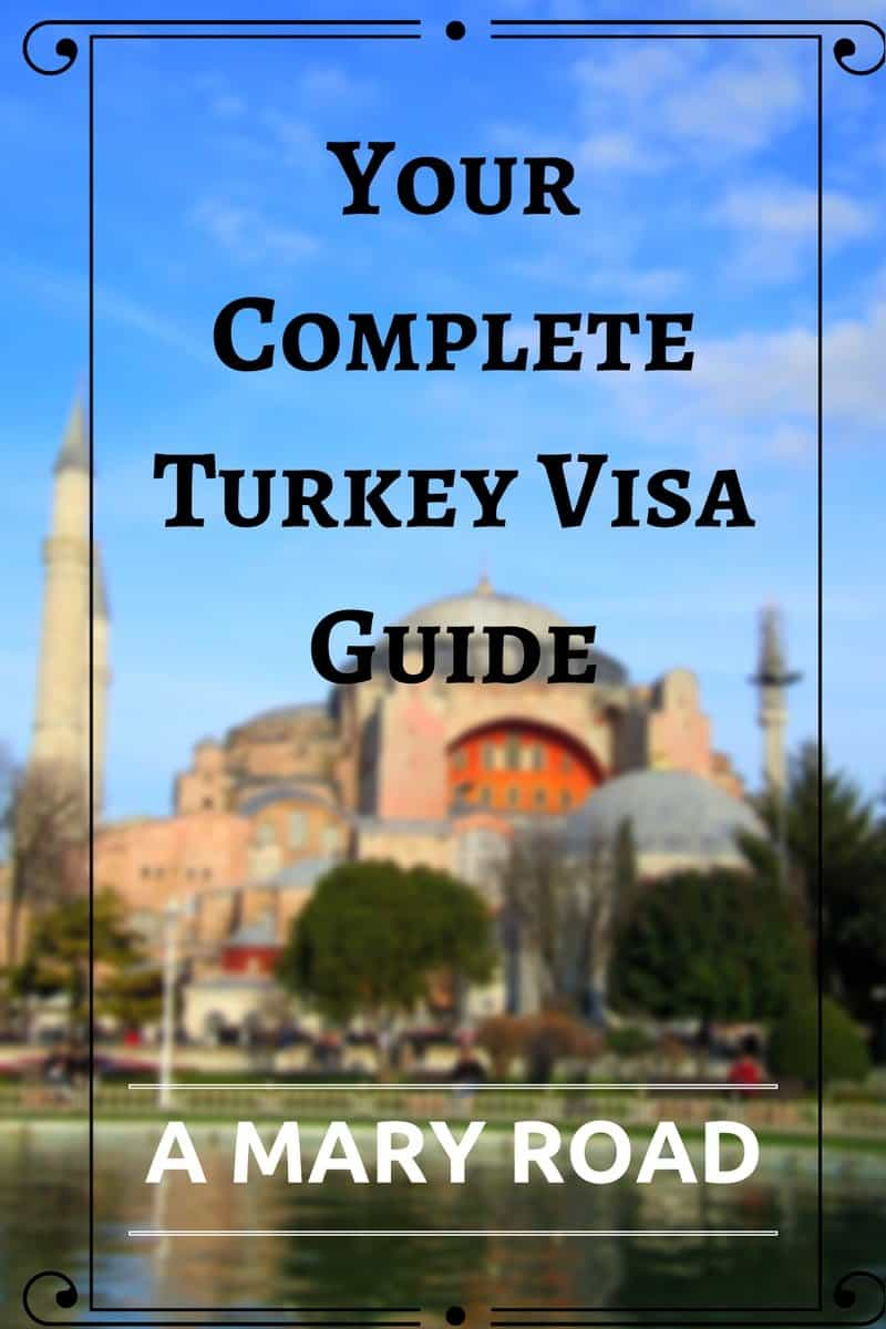 Here's your complete Turkey tourist visa guide. Included the ways to get your Turkish visa, where to get your Turkish visa, visa fees, Turkey evisa, and more!