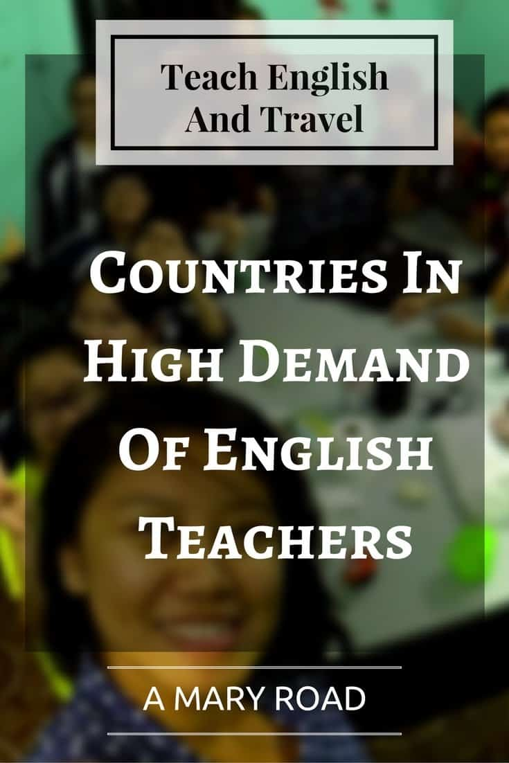 teach english and travel