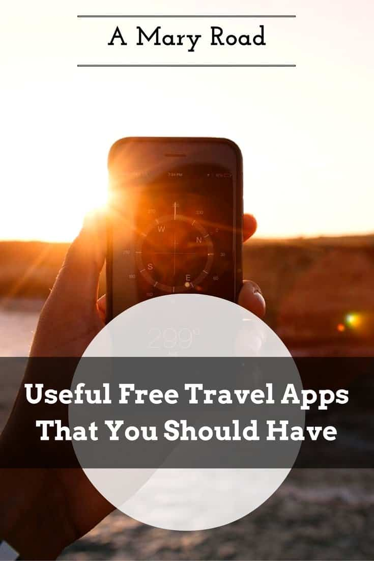 Useful Free Travel Apps That You Should Have