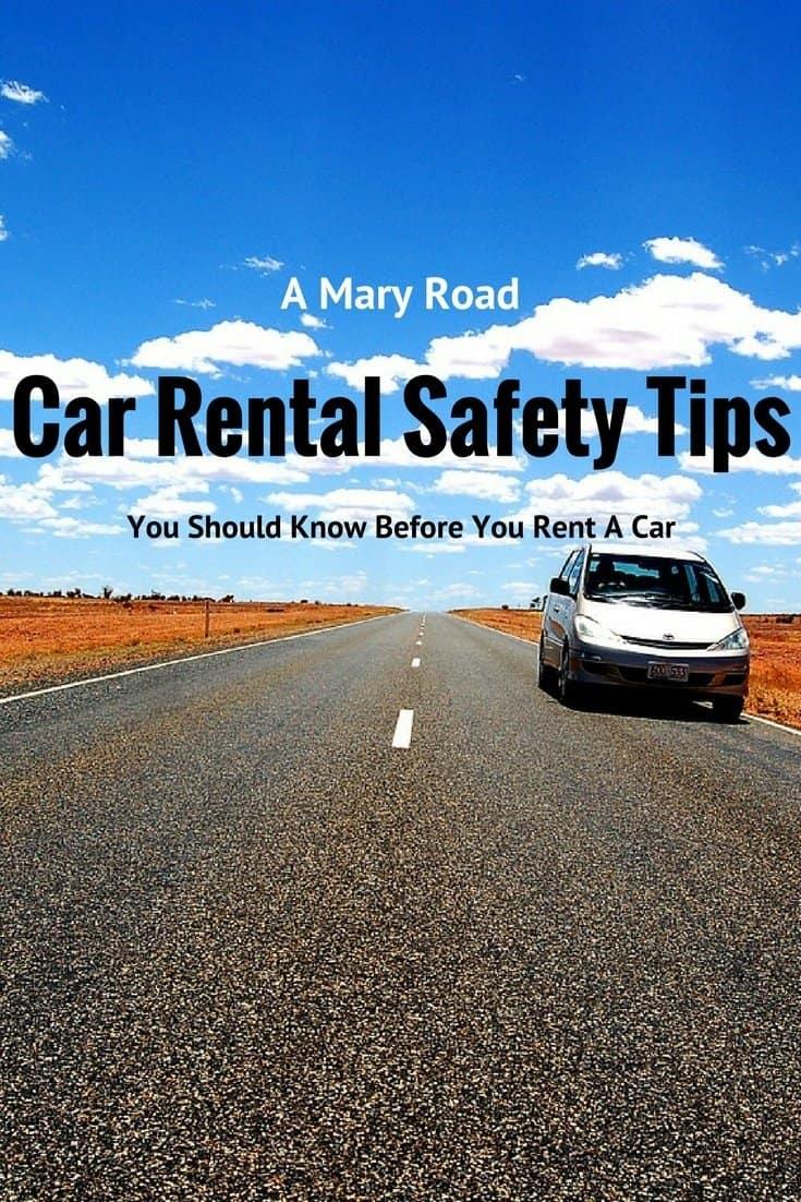 Car Rental Safety Tips
