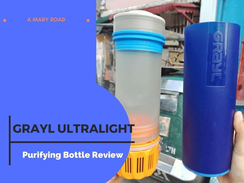 Grayl ultralight - Purifying Bottle Review
