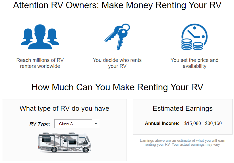 RVShare Cheapest RV Rental Online