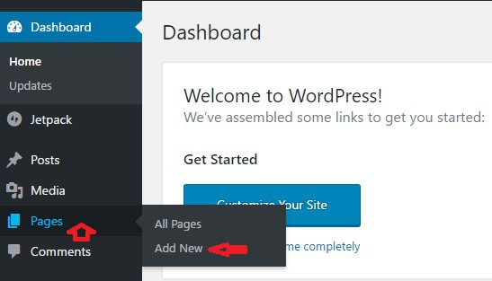 WordPress Menu Set Up - WordPress Blogging 101 1