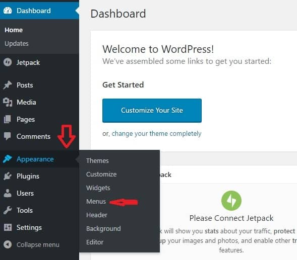 WordPress Menu Set Up - WordPress Blogging 101 8