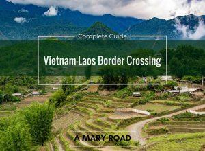 Vietnam-Laos Border Crossing 2