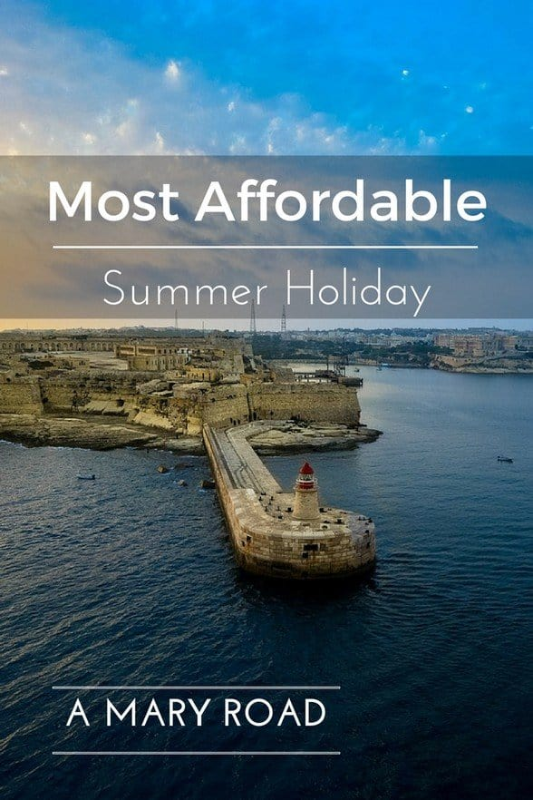 most affordable Summer Holiday