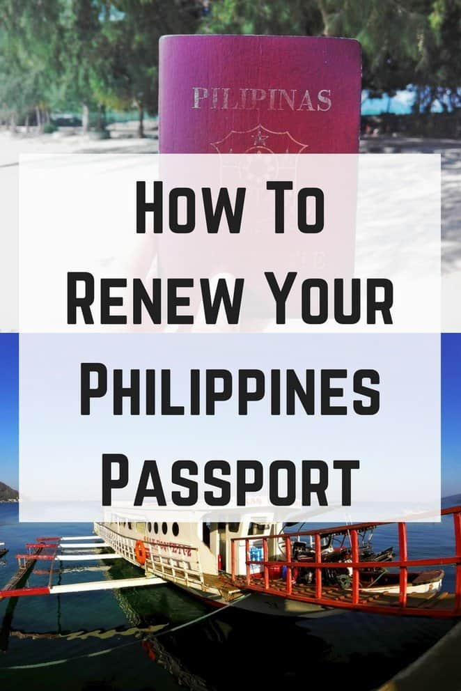 2018 How To Renew Your Philippines Passport Easiest Way