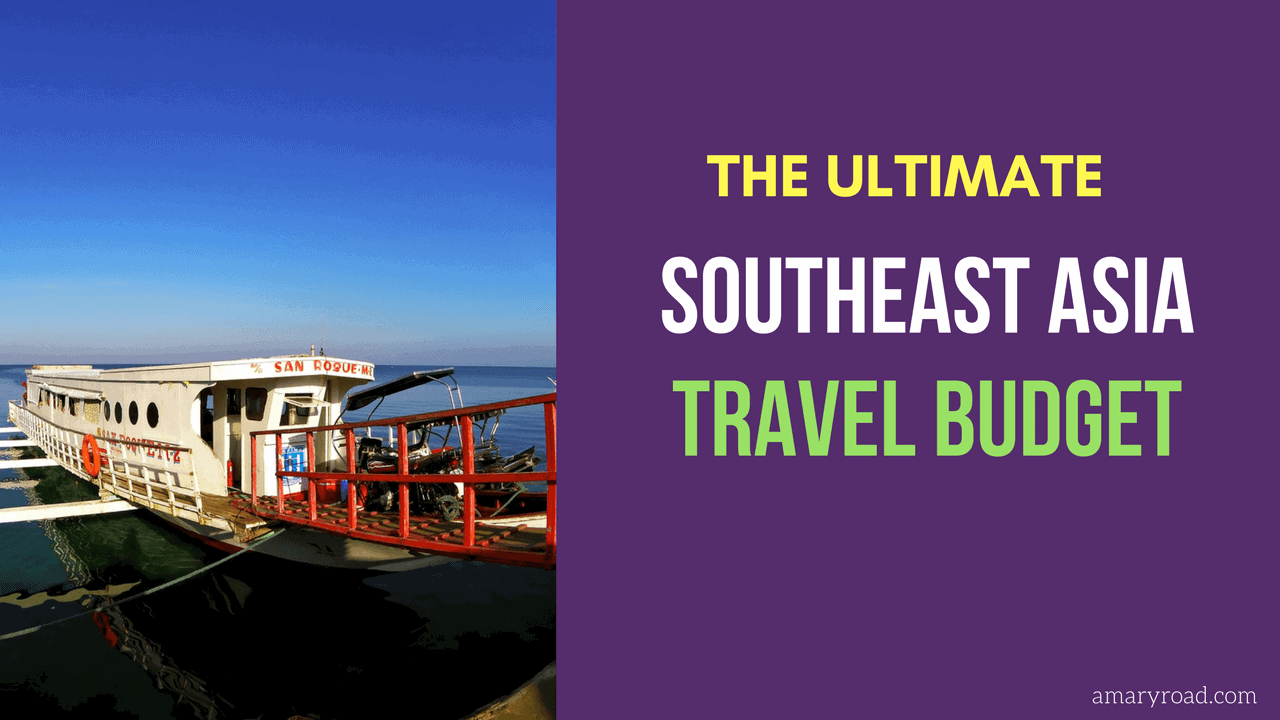 Ultimate southeast asia travel budget