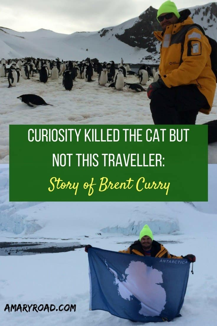 Story of a traveller, Brent Curry, Travel story of Brent Curry, Where Brent Went