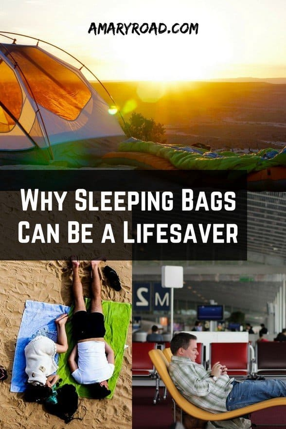 Are you thinking if it's worth it to pack a sleeping bag? Here is Why Sleeping Bags Can Be a Lifesaver - why sleeping bags are important, sleeping bags as life saver, should I get a sleeping bag, pros of having a sleeping bag