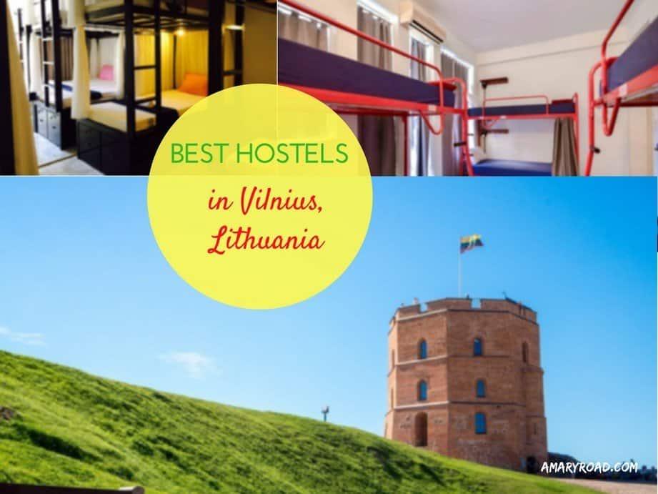 Best Hostels in Vilnius, Lithuania 1