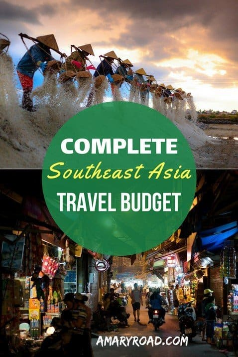 If you going backpacking in Southeast Asia,check this Southeast Asia travel budget article. Where you will find travel budget in each country. Find out how you can travel Southeat Asia on a shoestring, souhteast Asia on a bugdet. #southeastasiatravelbugdet #southeastasiaonabudget #shoestringbudget