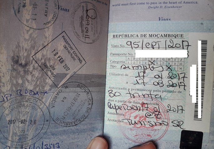 Visa Free Countries For USA Passport Holders - Mozambique