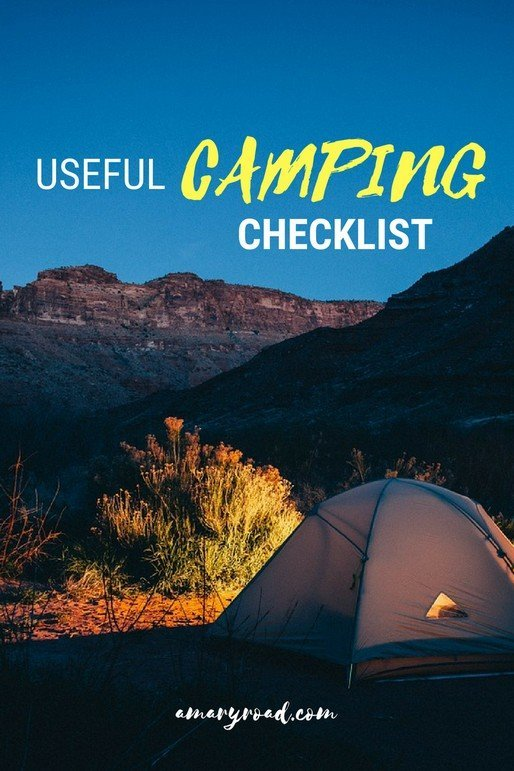 Here are a useful camping checklist for first timers. From preparation, what to pack, what to remember, and exra tips! #campingchecklist #campingchecklistforfirsttimer