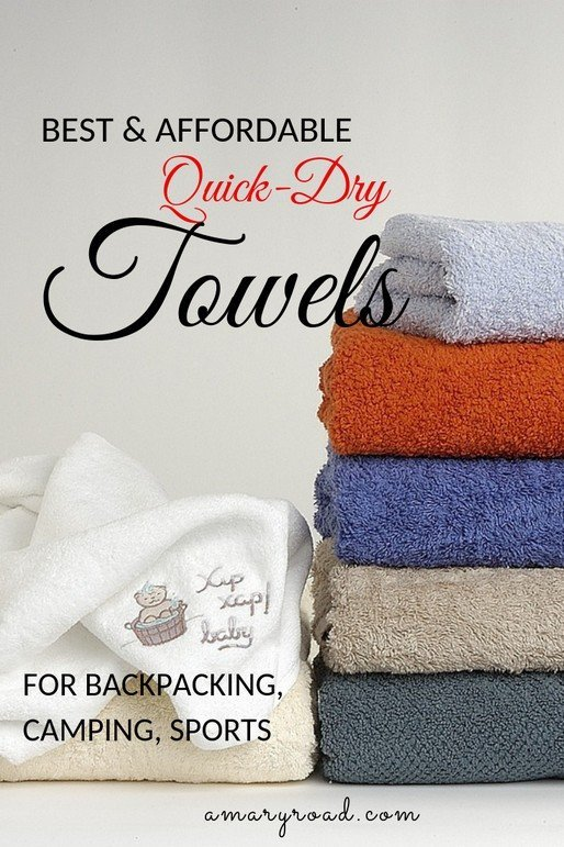 If you are travelling soon with limited space in your luggage, you might want to get one of these 5 best quick dry towels for backpacking, camping, or any other sports activities. They are microfibre, lightweight, and fast dry. #bestquickdrytowelsforbackpacking #microfibretowel #fastdrytowel #towelforbackpacking