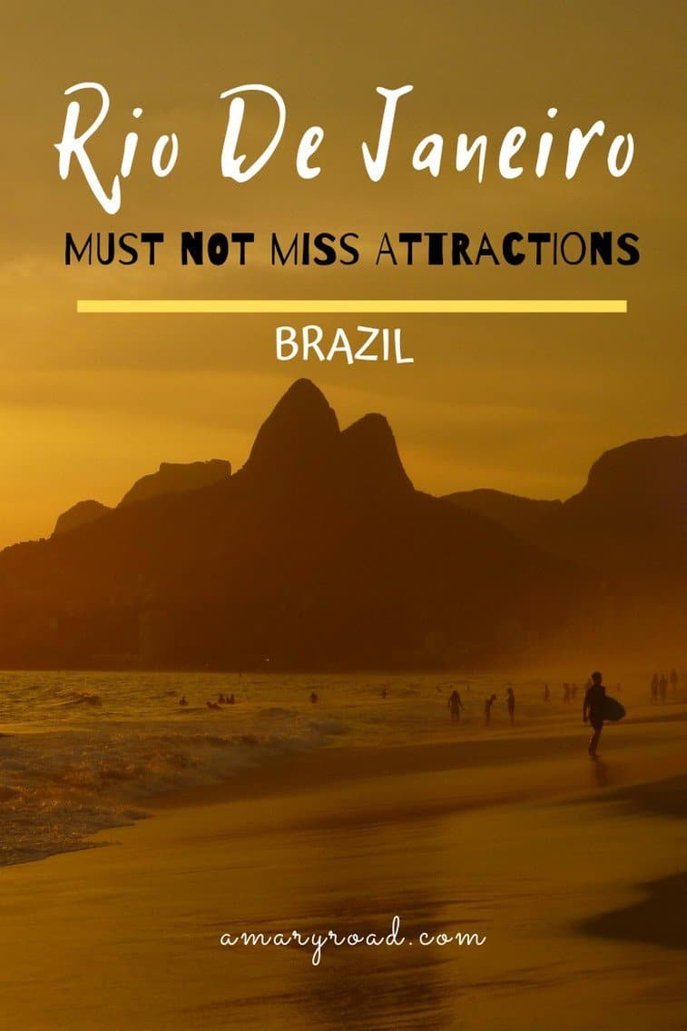 If you are heading to #Brazil soon, make sure to not miss the capital. Here are the Rio De Janeiro tourist attractions that you must not miss during your trip. #riodejaneiro #topthingstodoinrio