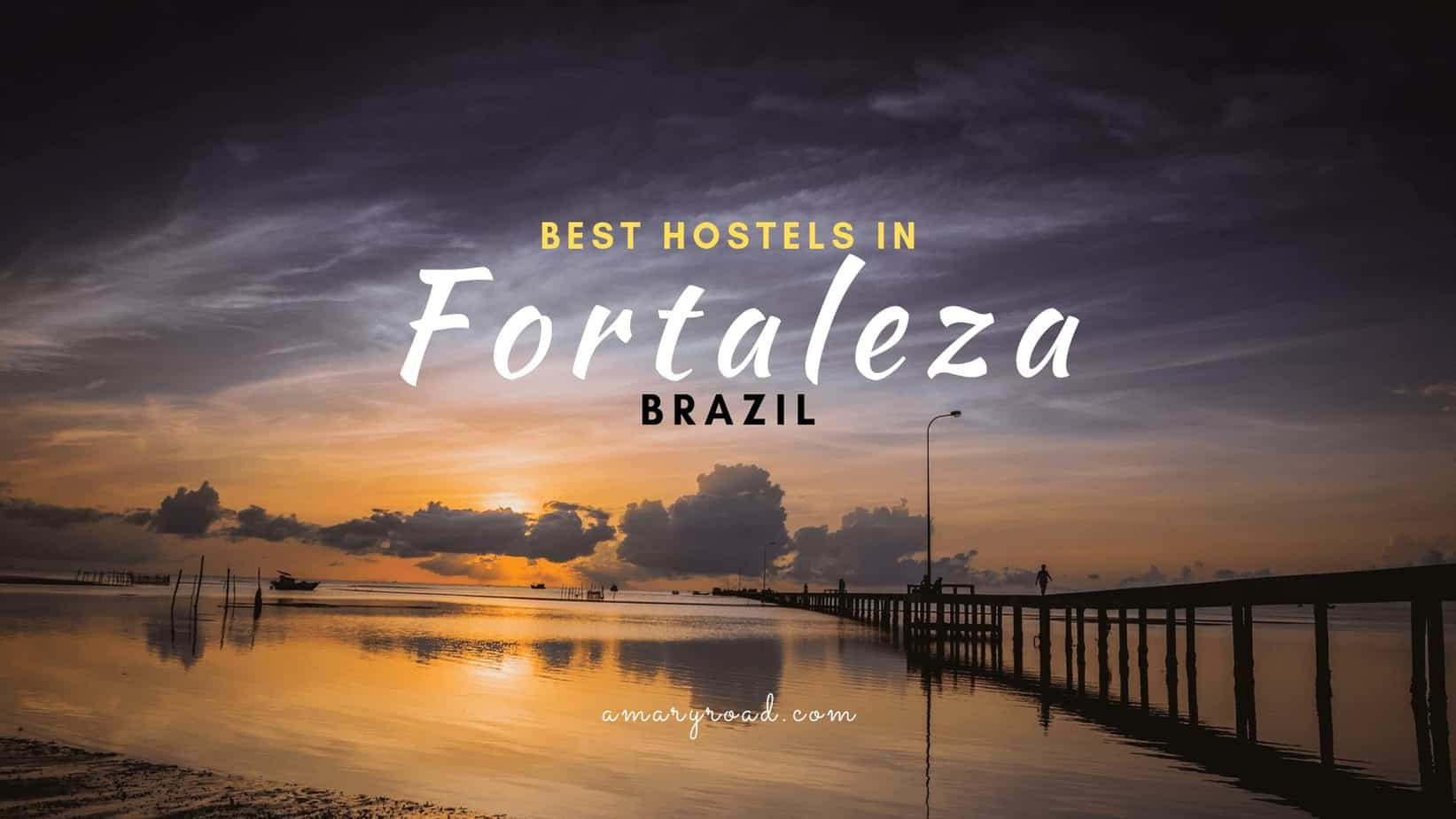 If you are heading to Fortaleza, Brazil but undecided which is the best place to stay, check this best hostels in Fortaleza. I listed the best party hostel, homestay, chill vibe hostel, and hostel with a swimming pool. #besthostelsinfortaleza #wheretostayinfortaleza #fortalezabrazil