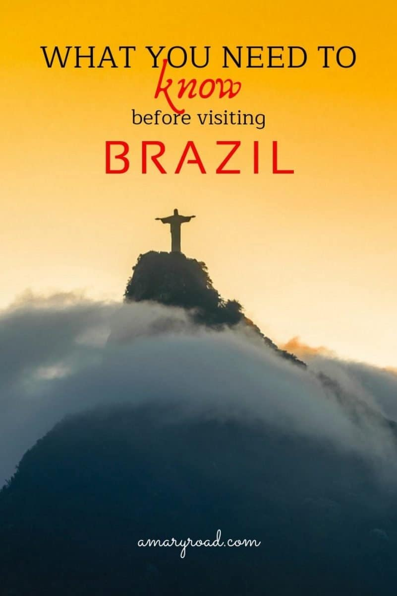 Before you go to Brazil for backpacking, here are the important things to know before traveling to Brazil. These will keep you safe, help you with packing, and will give you great tips about backpacking in Brazil. #thingstoknowbeforetravelingtobrazil #backpackinginbrazil