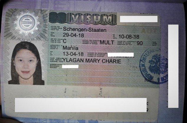 Schengen visa - austria