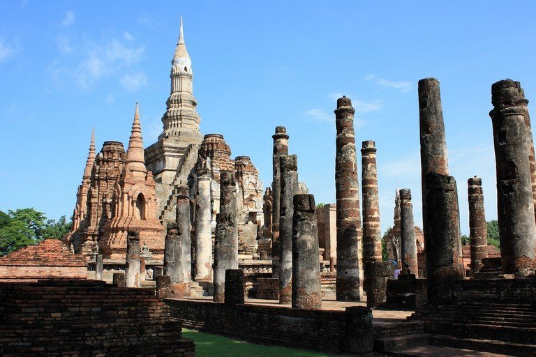 Stunning ancient cities in the world that you must - Sukhothai