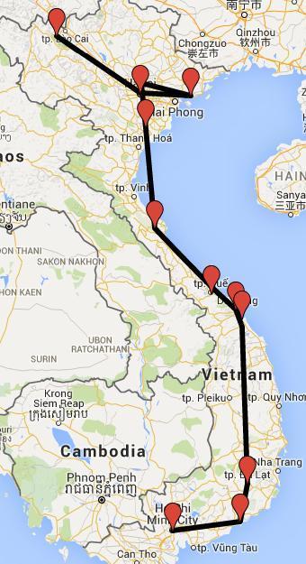 Tracing Vietnam - Backpacking in Vietnam