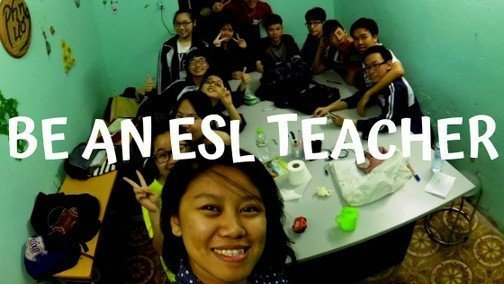 BE AN ESL TEACHER