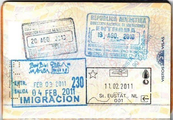 Brazil visa application online - Brazil visa stamp