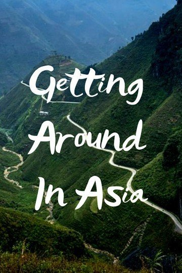 getting around asia