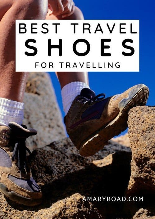 Did you pack the best walking shoes for concrete? Find the best walking shoes for any type of trip - this review article is both for men and women #walkingshoes #travelshoes #traveltips #travelideas #travelguide #travelpack via @amaryroad