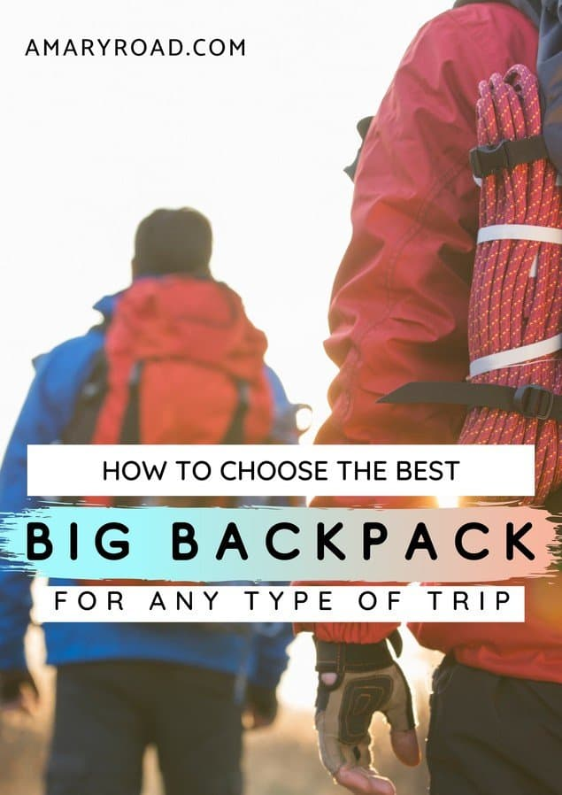Comparison review for best 50L backpacks for men and women. What to consider, what to ask yourself, what brand for 50L rucksack on the market, comparison table #bestbackpack #packingtips #traveltips #travelideas #travelguide #traveltheworld via @amaryroad