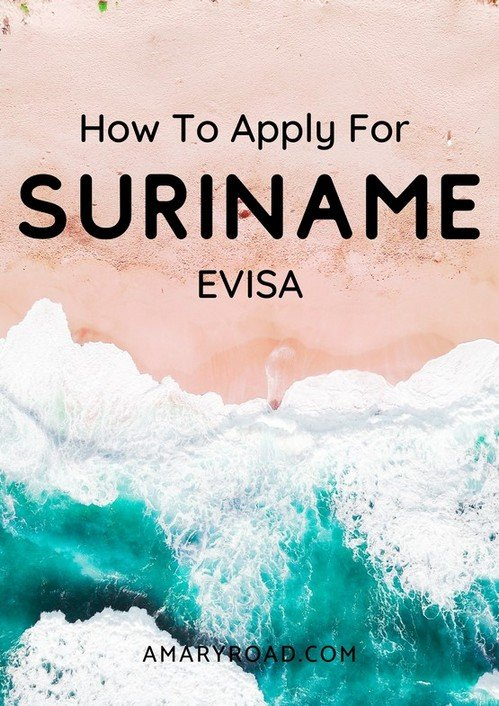 Here is a guide on how to apply for Suriname evisa online. We list down the requirements for Suriname visa, cost, and process #surinamevisa #travelvisa #traveldestinations #traveltips #travelideas #travelguide #amazingdestinations via @amaryroad