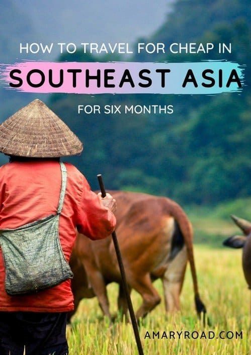 Don't have enough budget to travel in Southeast Asia? This is How I travelled and lived with 2000 USD for six months in Southeast Asia, maybe you can too! #travelideas #traveldestinations #traveltips #travelbudget #travelideas #travelguide #amazingdestinations via @amaryroad