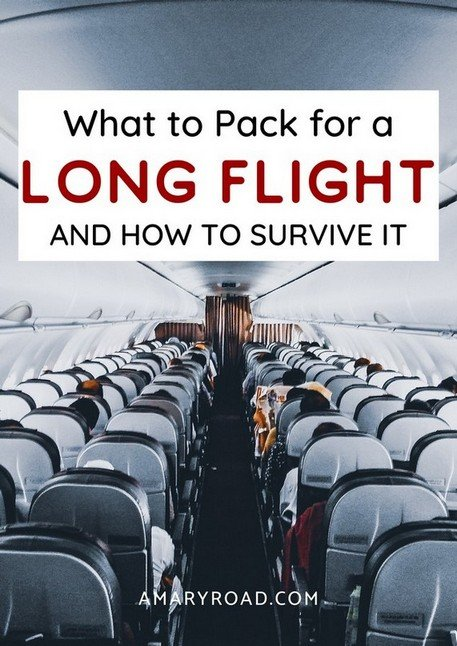 Long haul flight essentials that you must pack. How to survive a long flight and connection? What to pack on long haul flight and how to dress #longflightaccessories #packingtips #traveltips #travelideas #travelguide #traveltheworld via @amaryroad