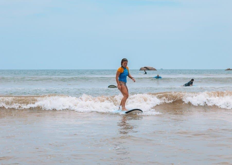 Surfing in Asia - Weligama, Sri Lanka