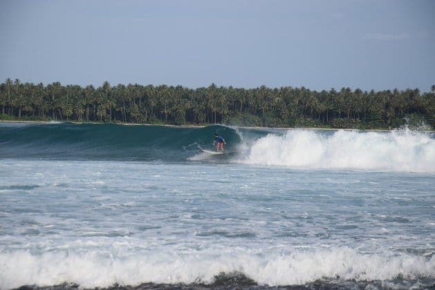 WHERE TO SURF IN ASIA-Best Surfing Spots In Asia For Beginner To Expert - Lagundri Bay 1