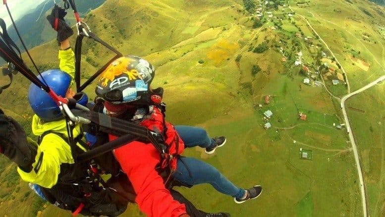 Gudauri, Georgia, Paragliding