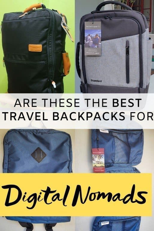 I went travelling with Standard Luggage travel gears: Carry On Backpack, Laptop or Daily Backpack, Day Pack, and Packing Cubes - here's my honest review. Is this the best carry-on backpack for digital nomads? Perfecto travellers to like to be organised when packing.