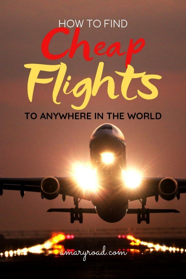 Here is how to book the cheapest flight from anywhere to everywhere in the world. Where to book, find deals, and tricks and tips to find affordable ticket #amaryroad #CHEAPFLIGHT