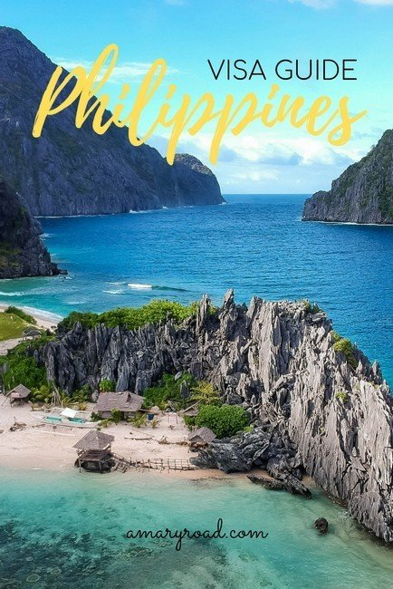 Need a visa to enter the Philipines? Find out how long can you stay and if you can extend your visa in the Philippines, and fees - Philippines Visa Guide #amaryroad #philippinesvisa