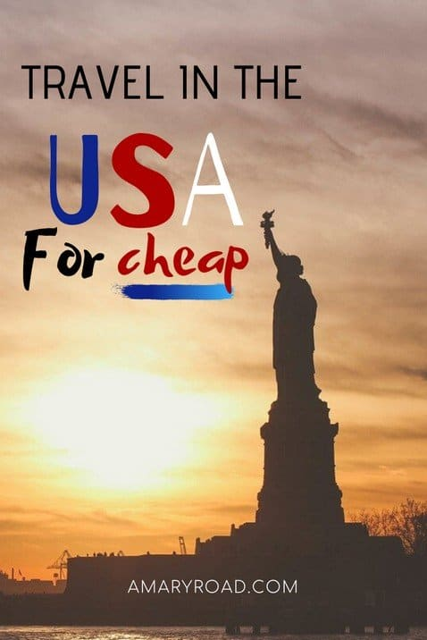 Here are the tips and tricks on how to travel for cheap in the US without missing out on a fun and exciting holiday!