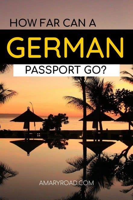 If you are a German traveller, check this German passport visa free countries where we list the visa-free, visa on arrival, an evisa #germantraveller #passportguide #travelvisa #visaguide #amazingdestinations via @amaryroad