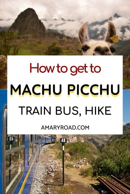 Don't know which Machu Picchu hike to take or how to get there? Read the other ways on how to get to Machu Picchu: Inca Trail, train, bus, tips #perutravel #machupicchu #traveltips #bucketlisttravel #travelideas #travelguide #amazingdestinations #traveltheworld via @amaryroad