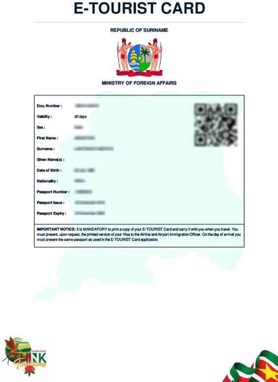 HOW TO APPLY FOR SURINAME EVISA ONLINE - Requirements, Cost, Process